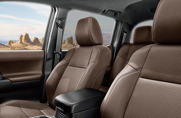 interior of the 2017 Toyota Tacoma