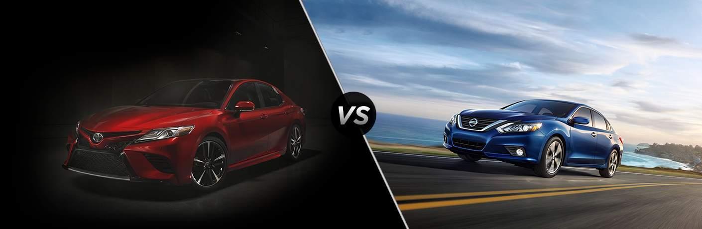 2018 Toyota Camry vs. 2018 Nissan Altima
