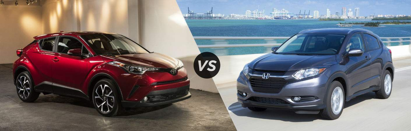 2018 Toyota C-HR vs. 2018 Honda HR-V