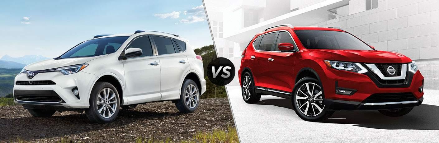 2018 Toyota RAV4 vs. 2018 Nissan Rogue