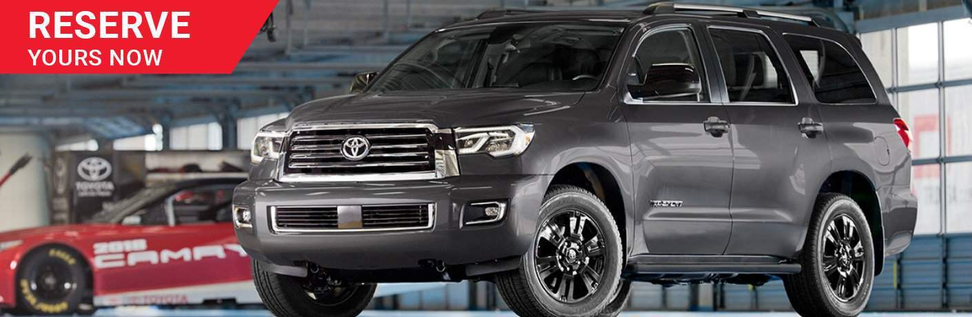 Reserve a 2018 Toyota Sequoia TRD Sport Green Bay WI