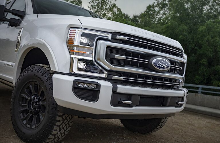 2020 Ford F-250 Super Duty grille design