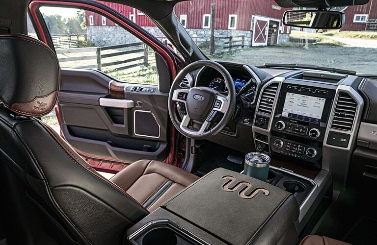 2020 Ford F-250 Super Duty interior