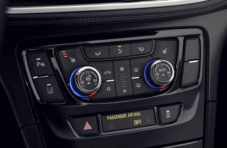 Temperature controls of the 2018 Buck Encore