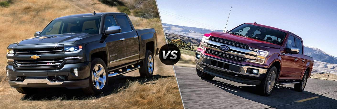 Chevrolet Silverado Vs Ford F - Chevrolet ford