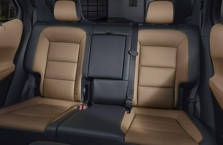 rear seats of the 2018 Chevy Equinox