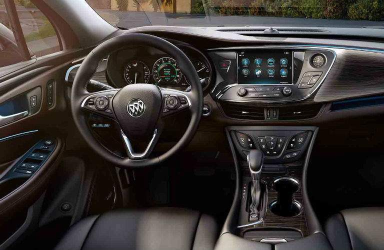 Drivers cockpit of the 2018 Buick Envision