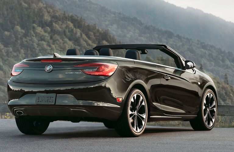 2019 Buick Cascada parked at a scenic lookout