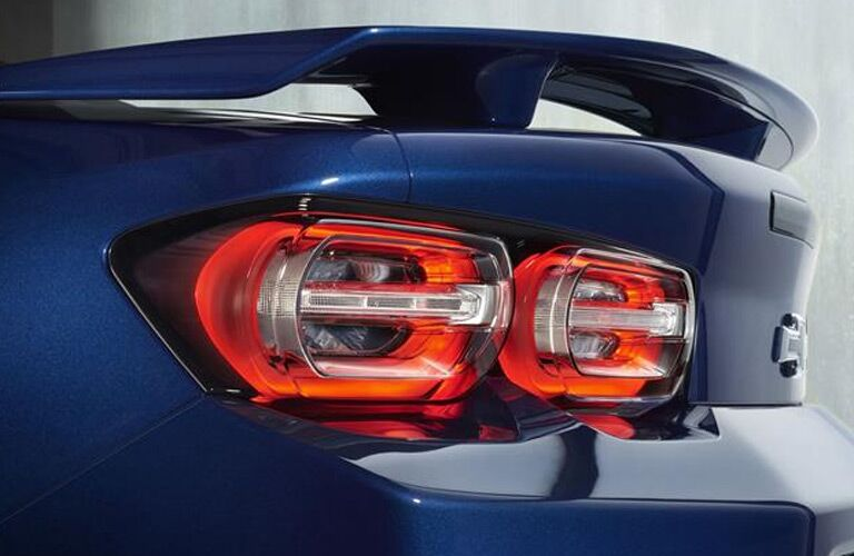 2019 Chevy Camaro closeup of taillight and spoiler
