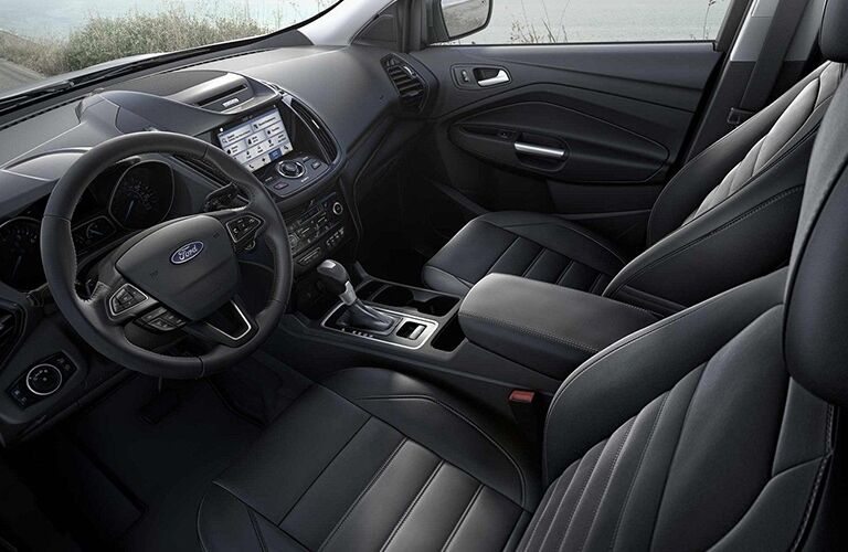 Driver's cockpit of the 2019 Ford Escape