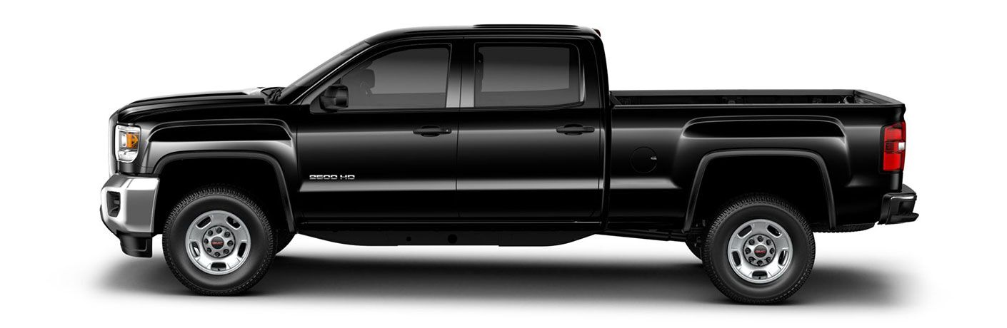 2019 GMC Sierra 2500HD exterior side on white background