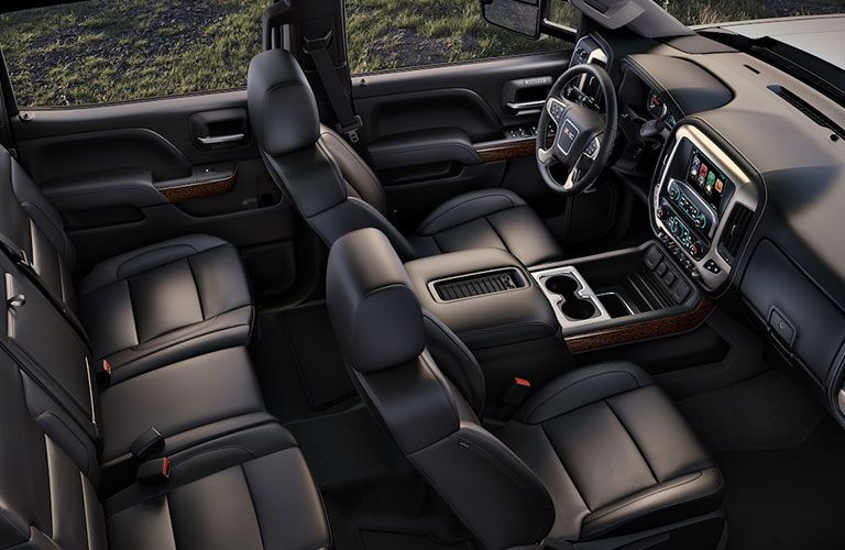 2019 GMC Sierra 2500HD interior cab
