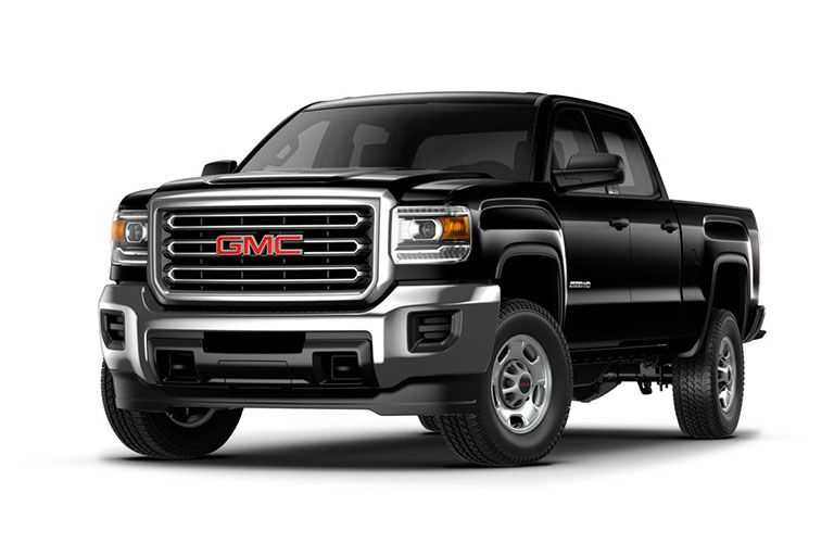 2019 GMC Sierra 2500HD exterior front side view on a white background
