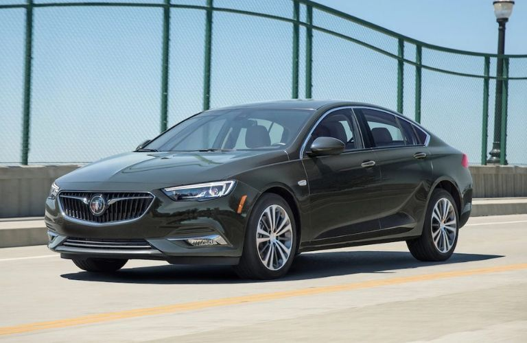 2019 Buick Regal Sportback driving on road