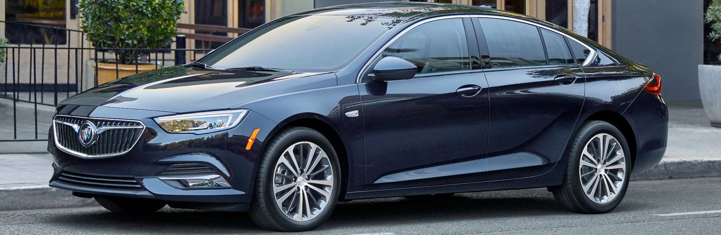 2020 Buick Regal Sportback exterior driver side parked on street