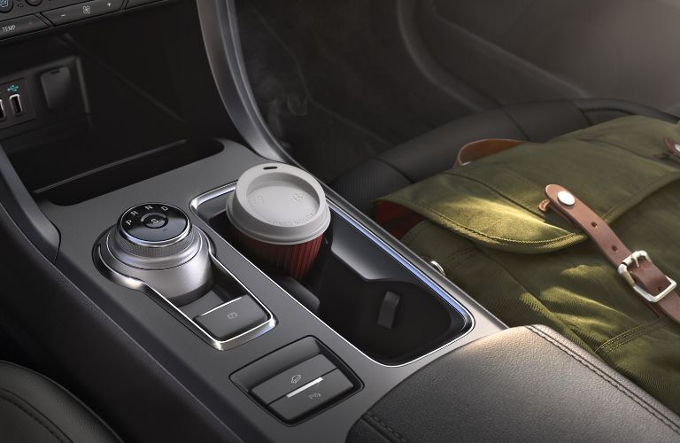 2020 Ford Fusion gear shift knob and cupholders