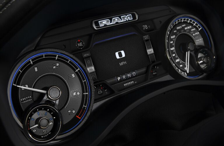 Gauges in 2020 Ram 1500