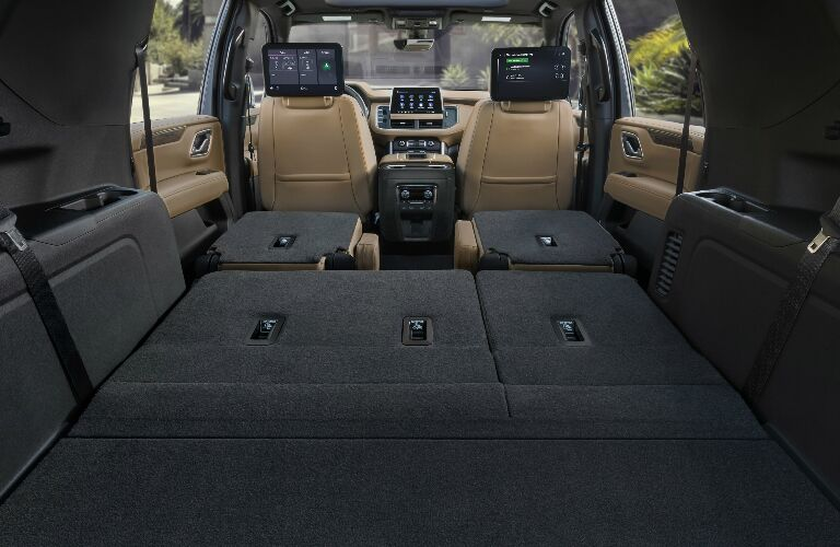 Cargo area in 2021 Chevrolet Suburban