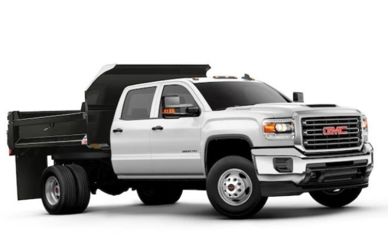 2019 GMC Sierra HD Chassis Cab as dump truck
