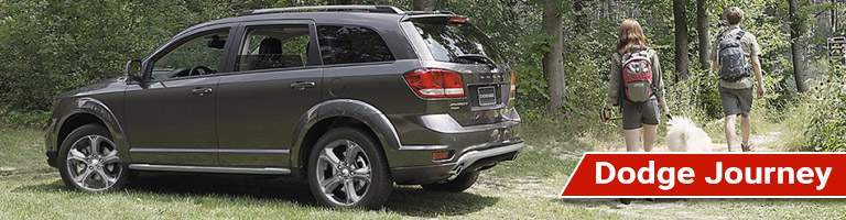 Driver's side exterior view of Dodge Journey
