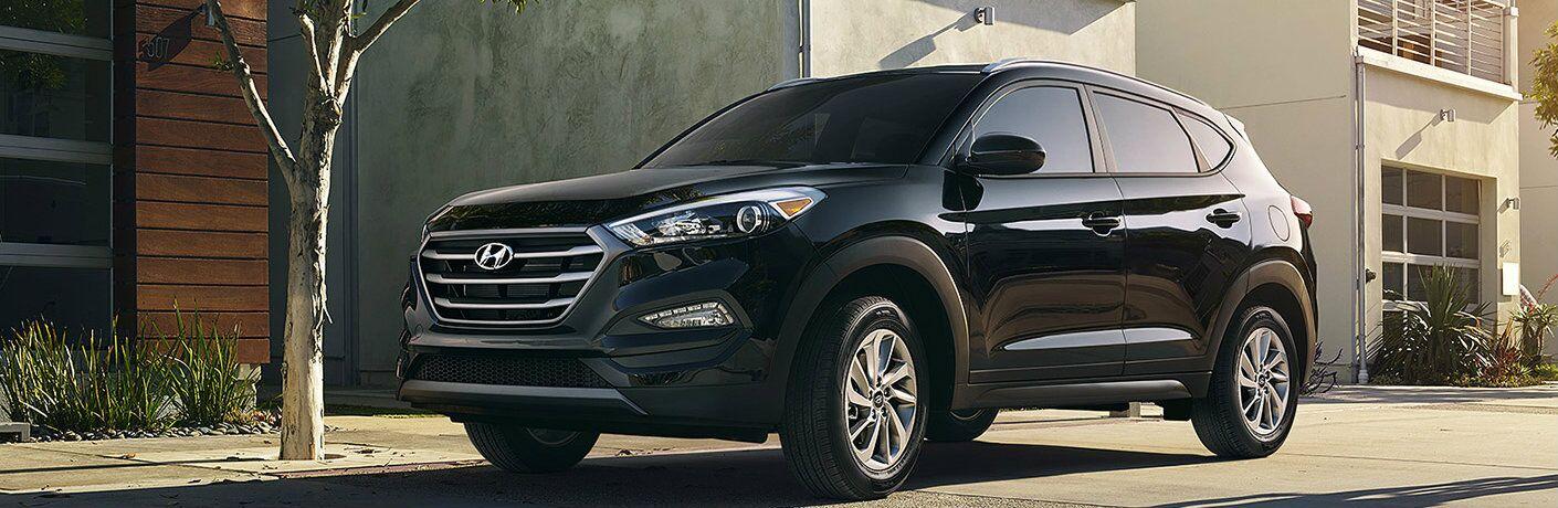 Black Hyundai Tucson