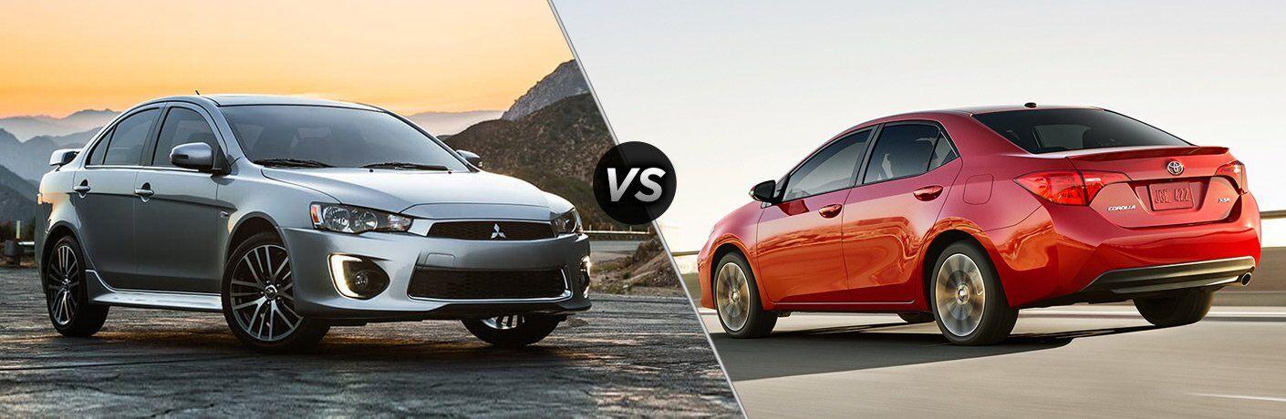 2017 Mitsubishi Lancer vs 2017 Toyota Corolla