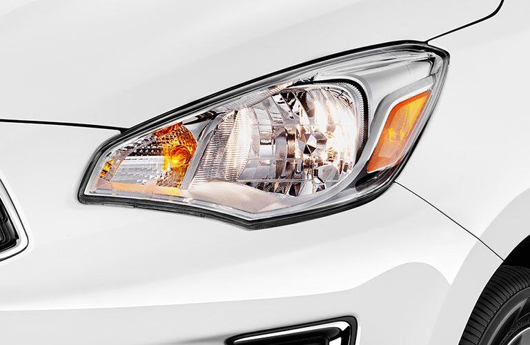 headlights on mitsubishi mirage g4