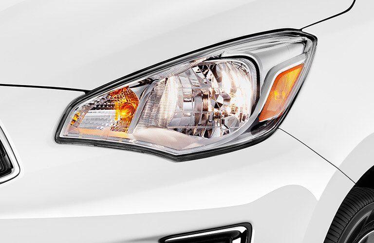 headlights on mitsubishi mirage g4