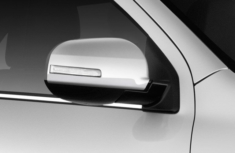 Side mirror of 2017 Mitsubishi Outlander Sport