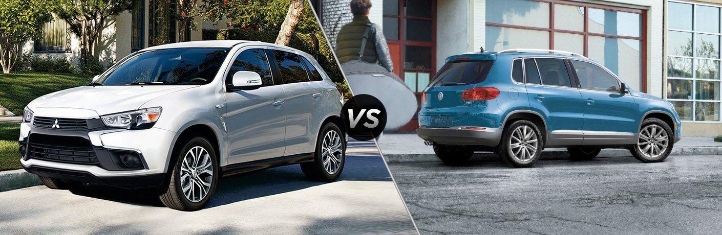 2017 Mitsubishi Outlander Sport vs 2017 Volkswagen Tiguan