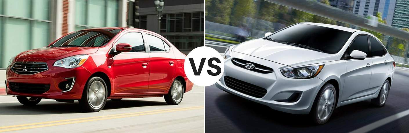 2017 Mitsubishi Mirage G4 vs 2017 Hyundai Accent Sedan