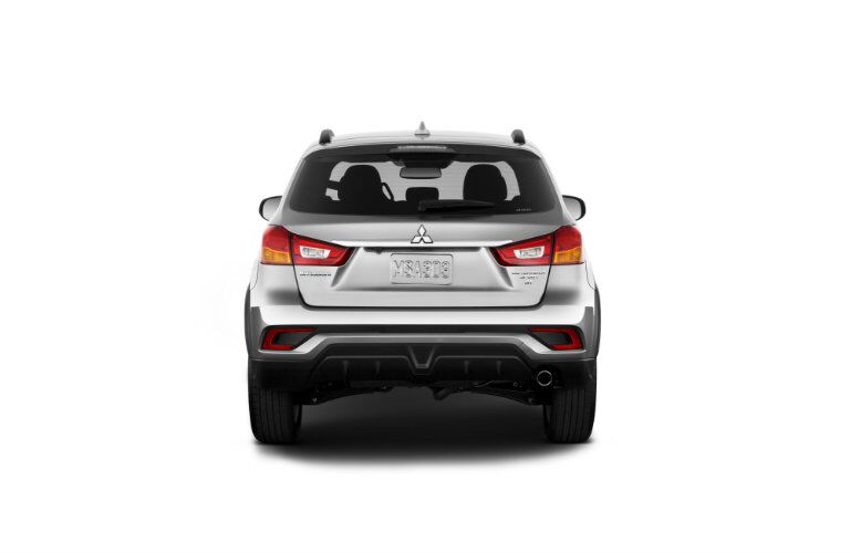 Rear profile of 2019 Mitsubishi Outlander Sport