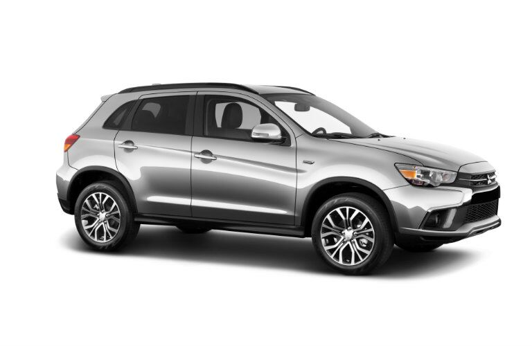 Front/side profile of 2019 Mitsubishi Outlander Sport