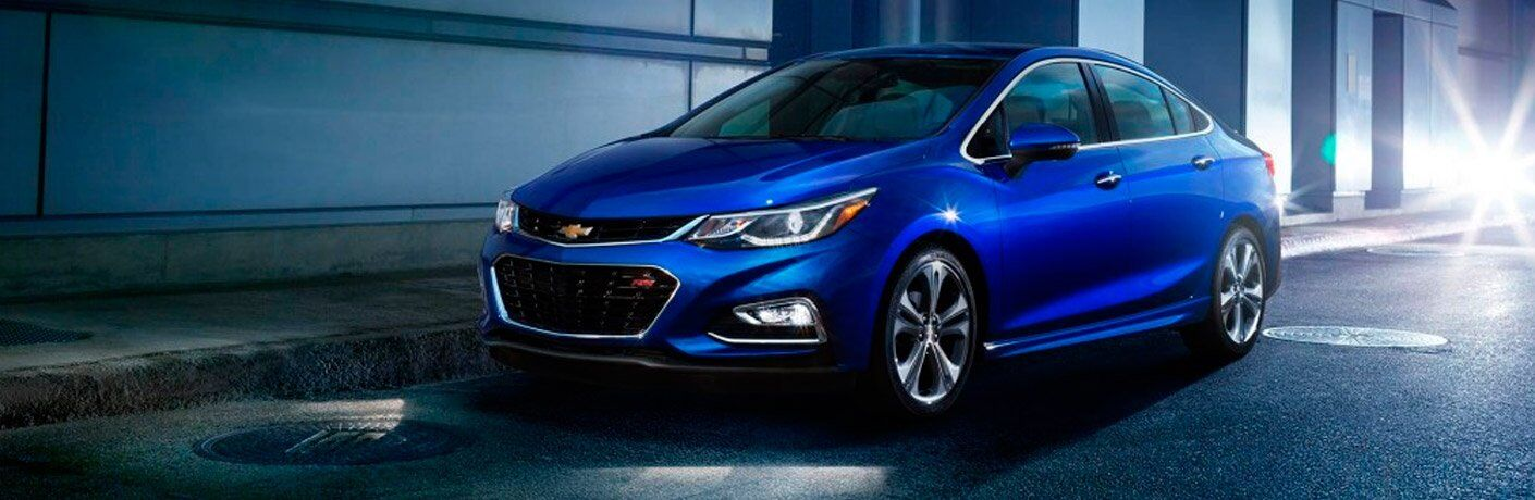 2017 Chevy Cruze front side view