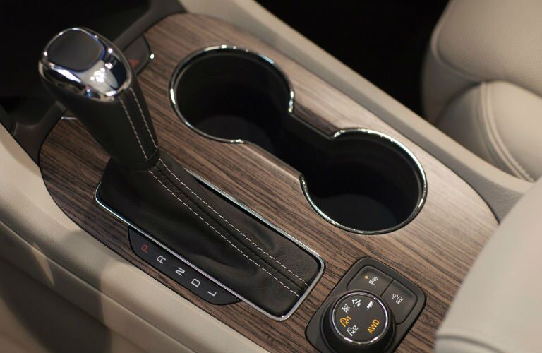 2017 GMC Acadia Denali interior cup holders
