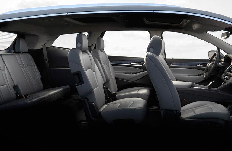 2018 Buick Enclave interior