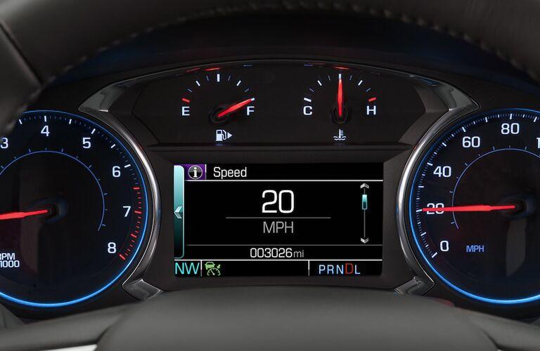 2018 Chevy Malibu meters