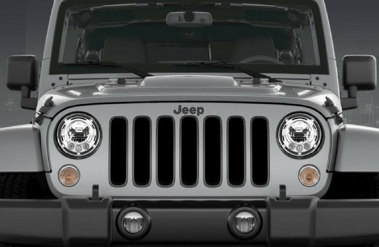 2018 Jeep Wrangler JK Altitude grille closeup