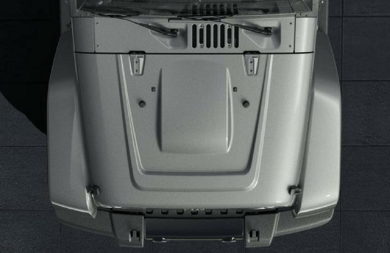 2018 Jeep Wrangler JK Altitude power bulge hood