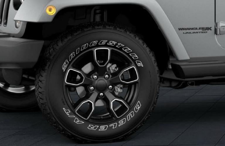 2018 Jeep Wrangler JK Altitude front left wheel