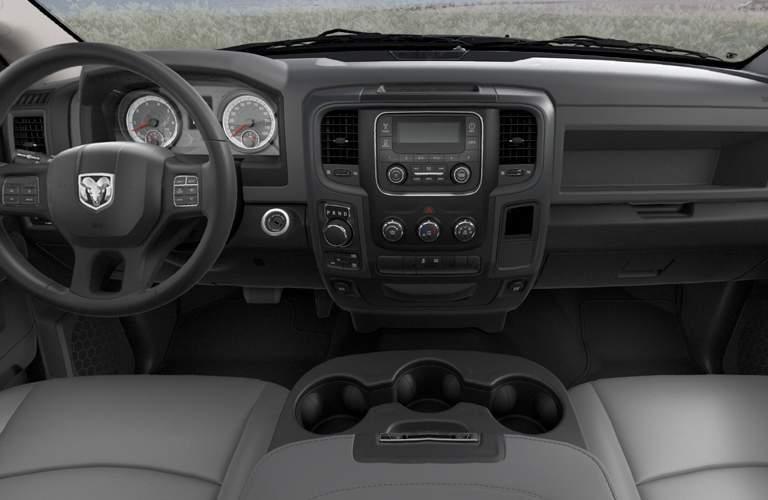 Front interior of 2018 Ram 1500