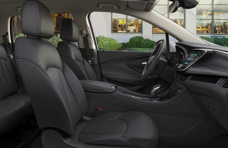 201 Buick Envision front interior