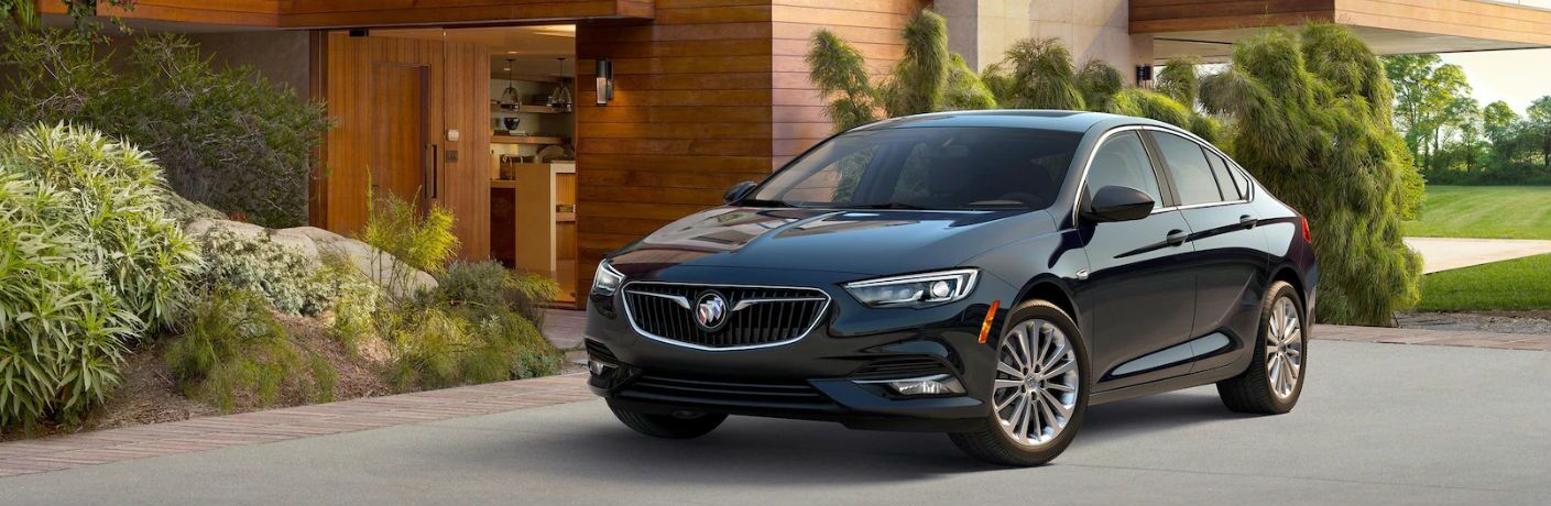 2018 Buick Regal Sportback parked by a house