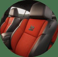2018 Dodge Challenger interior seating