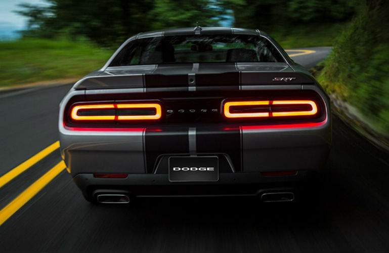 2018 Dodge Challenger rear end view