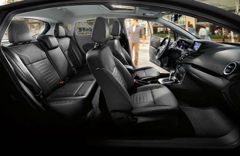 2018 Ford Fiesta profile view of seating