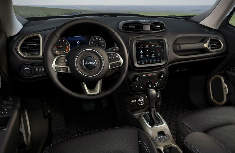 2018 Jeep Renegade front interior