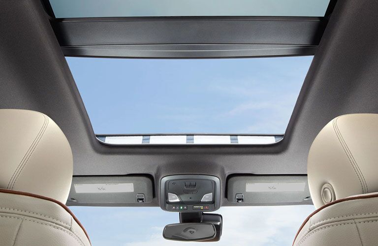 interior view of sunroof in 2019 impala