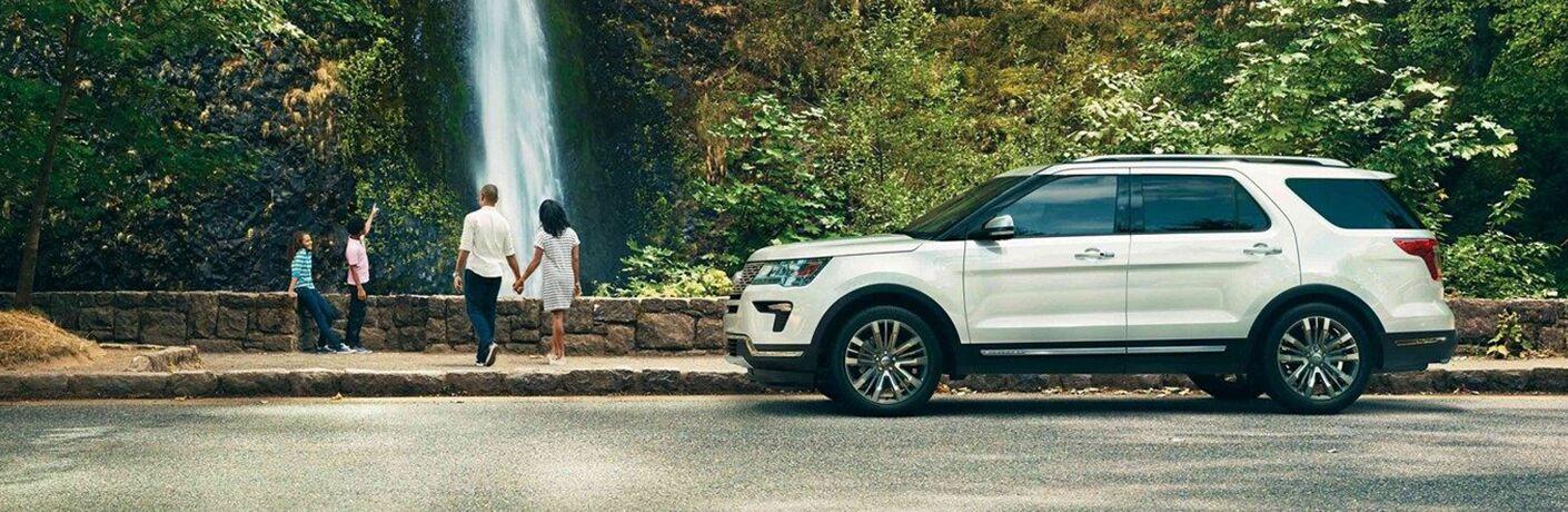 White 2019 Ford Explorer