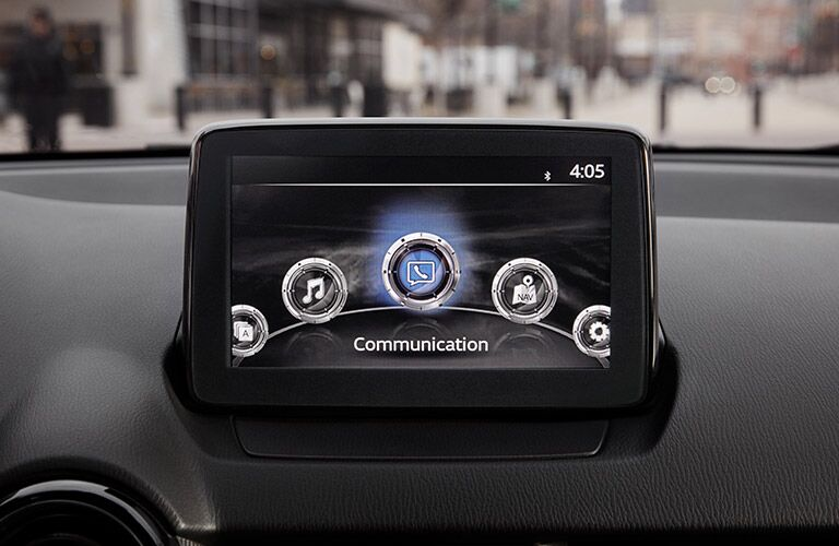 Infotainment center in 2019 Toyota Yaris